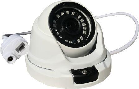Kit Cftv Ip Nvr 4 Canais 1080P Full HD + 4 Câmeras IP Dome 1.3 Megapixels 960P Lente de 2,8mm 18 Leds SMD Infravermelho 25 Metros Proteção IP66