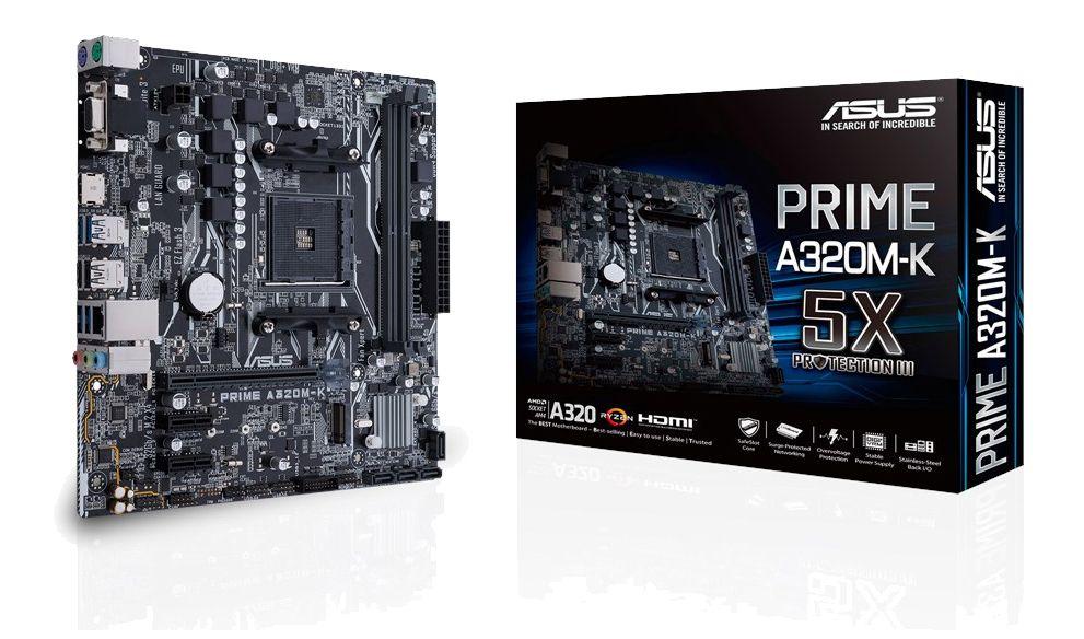 PC Gamer Asus Prime A320M-K AM4 - AMD A8 9600 Quad Core Apu R7 3.4Ghz 10 Computer Cores - Memória DDR4 8GB - SSD 120Gb - Gabinete Gamer + Acessórios