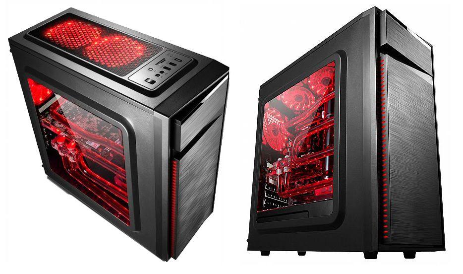 PC Gamer Basic Amd A4 7300 4 ghz Apu Radeon HD8470d 4gb Gabinete Gamer Hd Ssd 120gb Acessorios