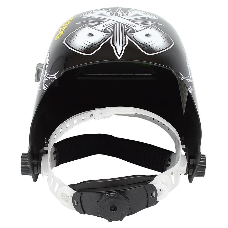 Mascara de Solda Personalizada Lucky's - Weld Vision