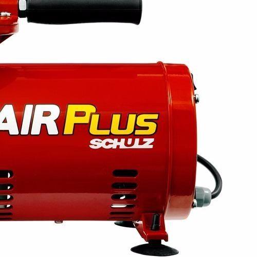 Motocompressor Ar Direto Schulz 2,3 Kit Pistola De Pintura