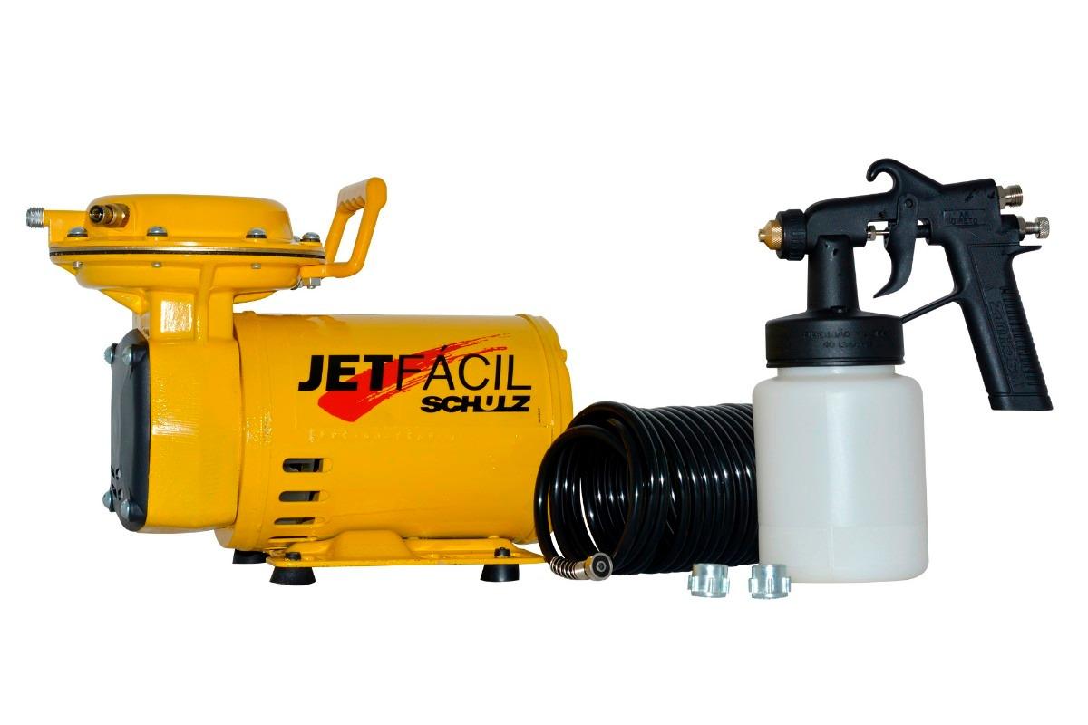 Compressor de Ar Direto Jet Fácil 40LB Bivolt - Schulz