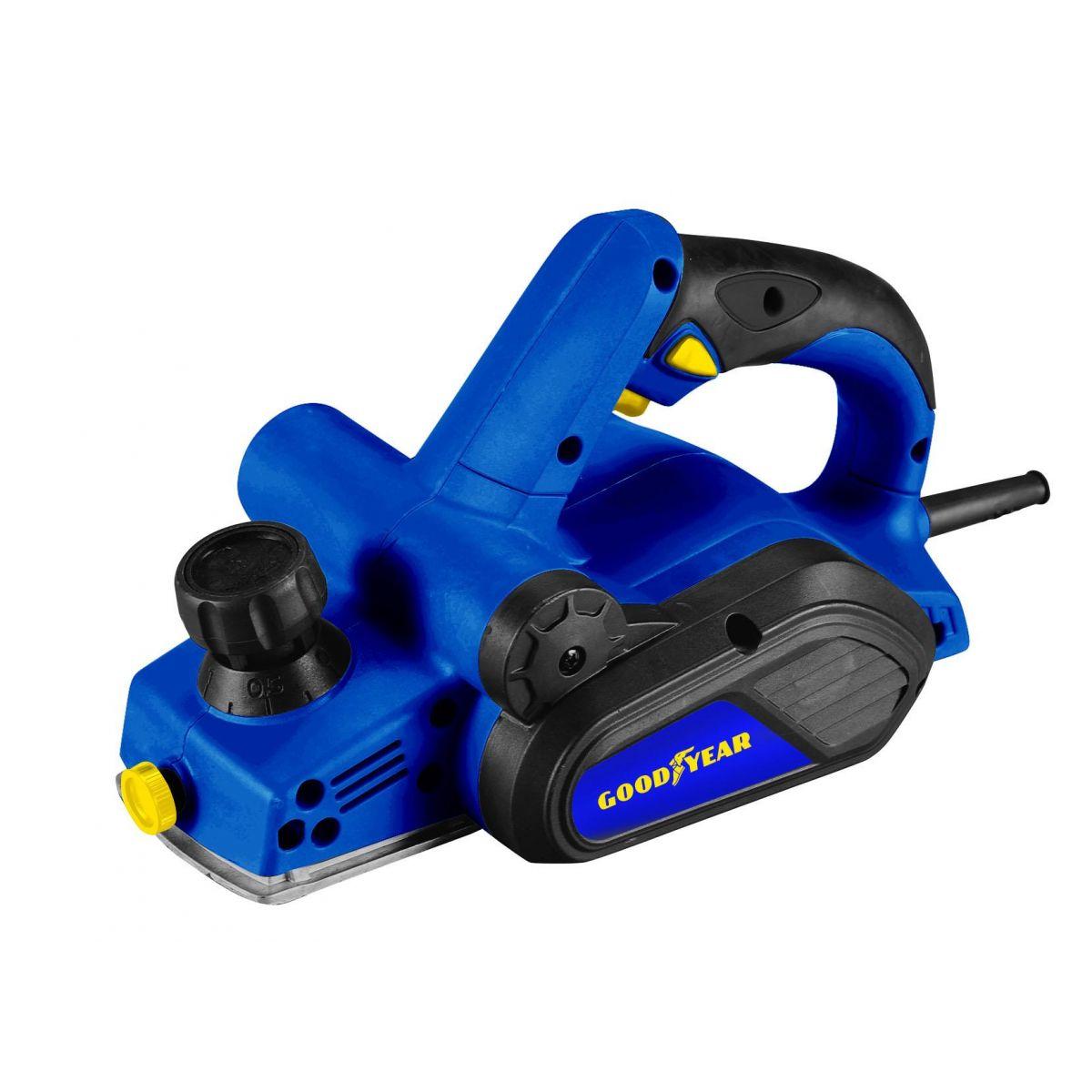 Plaina Elétrica 750w Profissional GY PL 90000-1 - Goodyear 220v