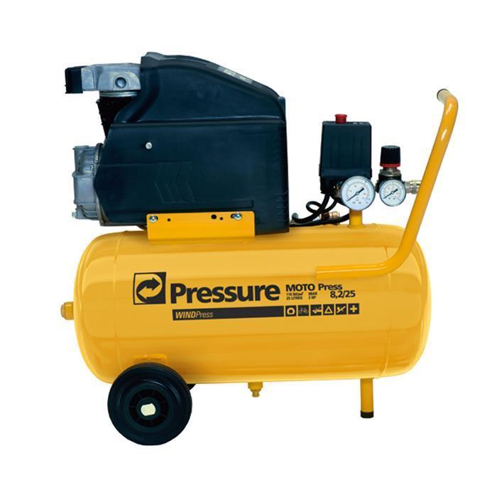 Compressor 8,2/25 com WP Kit Moto Press -  Pressure