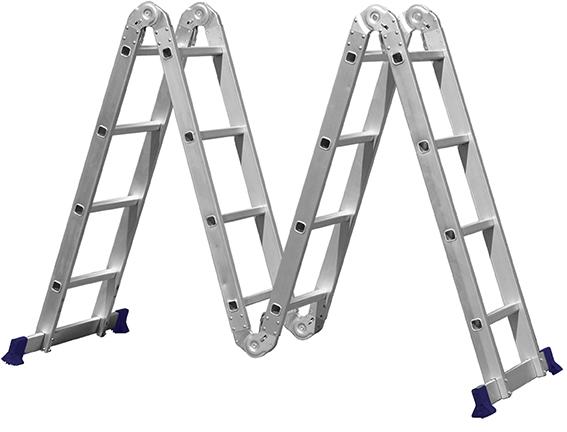 Escada Multifuncional 4x4 Alumínio  - Mor