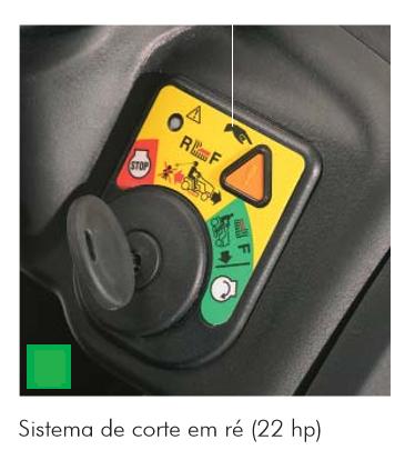 Trator Cortador de Grama LT 4220 a Gasolina - Trapp 20,0 HP
