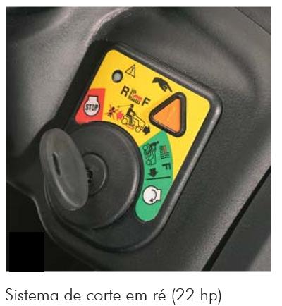 Trator Cortador de Grama LT 4622 a Gasolina - Trapp 22HP