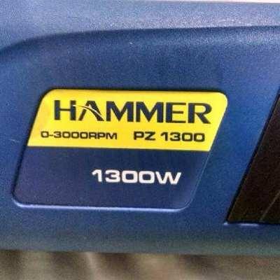 Politriz Angular 7'' 180mm PZ 1300w -  Hammer