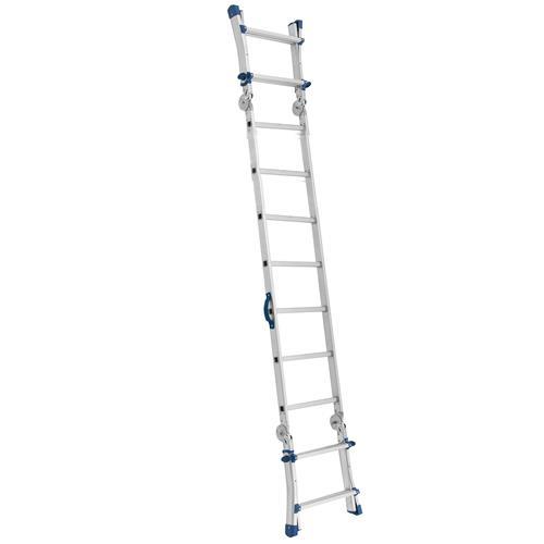 Escada Plataforma 9 Posições em Alumínio - Mor