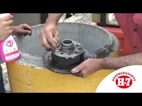 Desengraxante Removedor Multiuso Para Limpeza pesada H-7 1 Litro