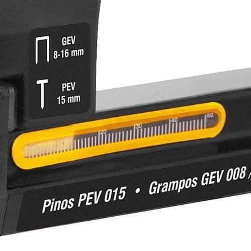 Grampeador  Pinador Elétrico Grampos de 8mm a 16mm de altura - Vonder