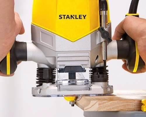 Tupia de Coluna Vel Variavel 1200w 6 Fresas - Stanley