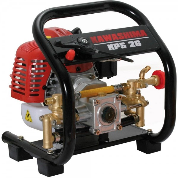 Bomba D'Água Pulverizadora Agrícola a Gasolina Motor 2T 25,4cc 25 Bar - Kawashima