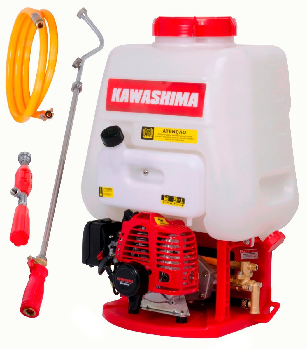Pulverizador Costal 25 litros Motorizado 2 tempos 25,6cc PCG2625 - Kawashima
