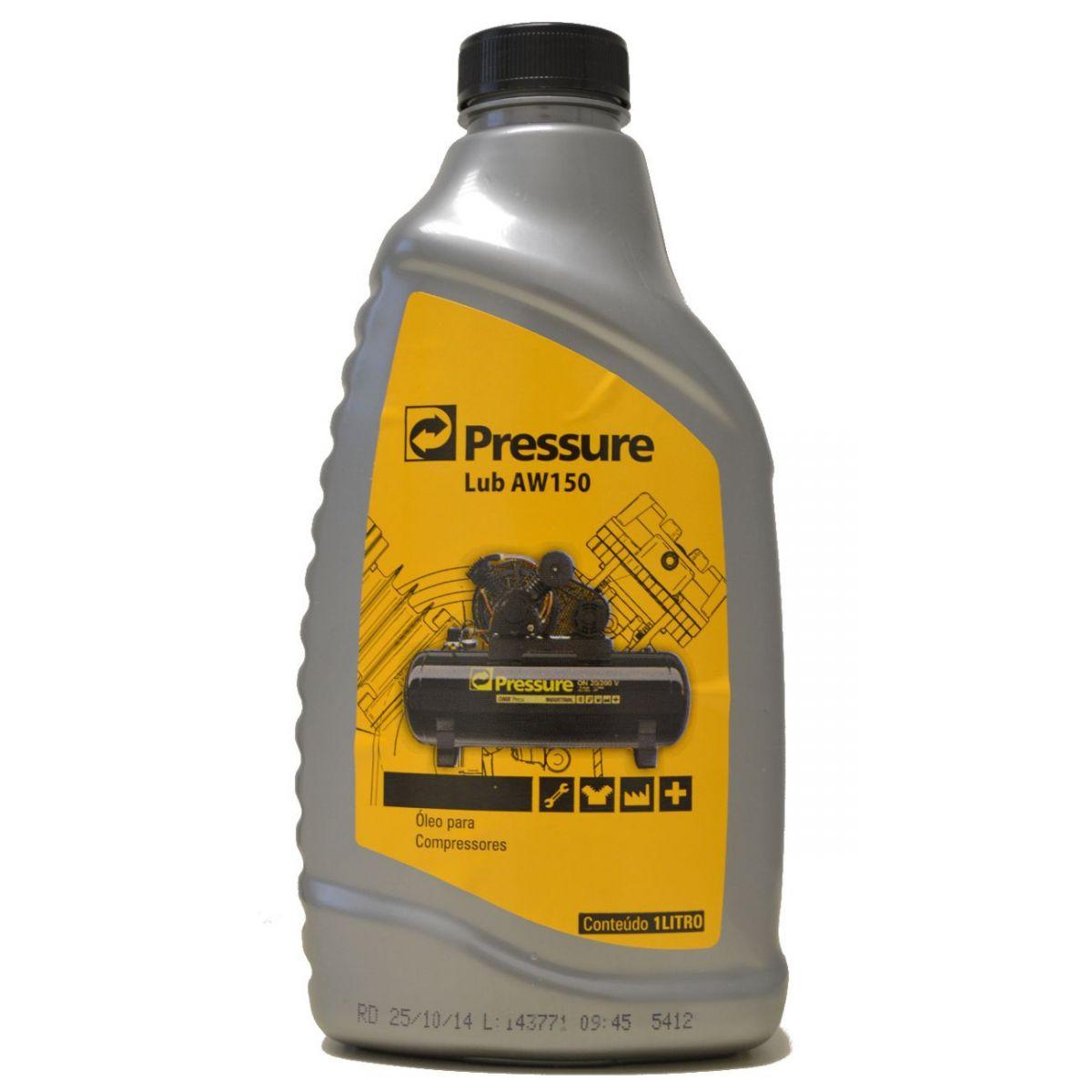 Óleo para  Compressores de Ar Tipo Pistão Lub AW150 - Pressure