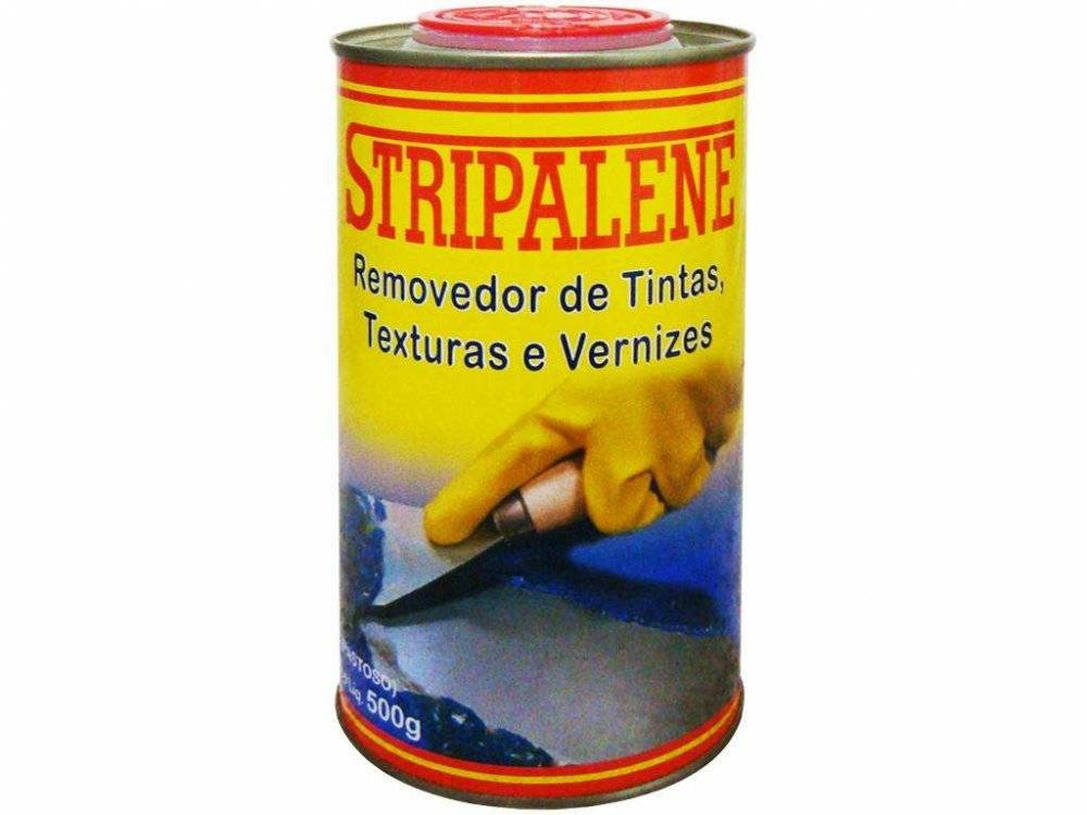 Removedor de Tinta Texturas Vernizes Pastoso - Stripalene