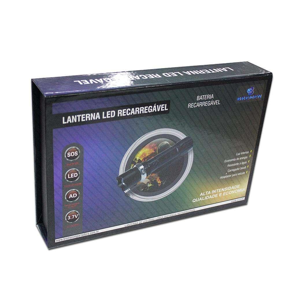 Lanterna de LED Recarregável Alta Intensidade - Bremen