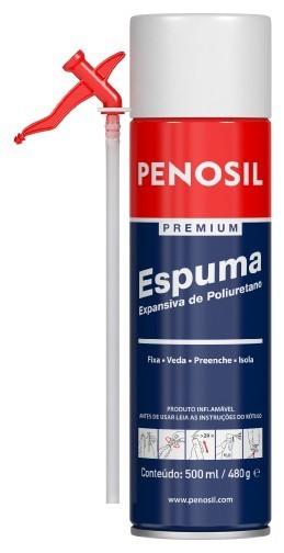 Espuma Expansiva de Poliuretano 500ml/480g - Penosil