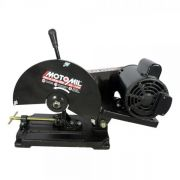 Serra Cortar Ferro 2hp 110v/220v Mono SC 100 - Motomil