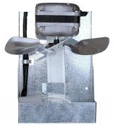 Exaustor para Churrasqueira/Lareira com iluminação Hélice 300mm - ITC