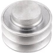 Polia de Alumínio 80mm 2 Canais