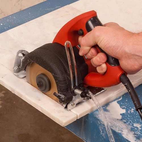 Serra Mármore 1300w 110v Disco Corte Kit Refrigeração Água -Schulz