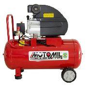 Compressor De Ar 2 Hp 8,7 Pés 50 Litros 220v Motomil