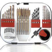 Jogo de Brocas e Acessórios 35 peças Mod.C3502 - Br Tools