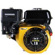 Motor Estacionário  à Gasolina Eixo Horizontal 7,0HP - Lynus
