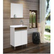 Armário para Banheiro com Espelho -Linha Roma 60