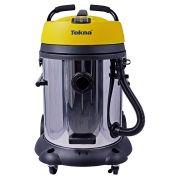 Aspirador de Água e Pó 2 Motores 60L Work60 Inox Tekna