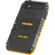 Carregador Portátil USB Auxiliar de Partida  APV 4000 - Vonder