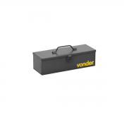 Caixa metálica para ferramentas Tipo Baú 35cm VONDER