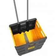 Caixa Plástica Desmontável com Rodas - Vonder