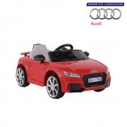 Carro Infantil Audi TT RS Elétrico 12V Vermelho Bel