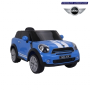 Carro Mini Paceman Elétrico Infantil 12V Azul Bel