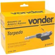 Grampo de aperto rápido torpedo GTPV 385 VONDER