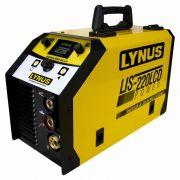 INVERSOR DE SOLDA POWER LIS-220 LCD Lynus