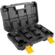 """Jogo de soquetes sextavados de impacto, encaixe 3/4"""", 19 mm a 38 mm 8 peças Vonder"""