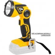 Lanterna de LED Bateria Intercambiável de 18V S/Bateria S/Carregador ILV1809 VONDER