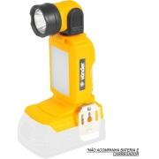 Lanterna de LED Bateria Intercambiável de 18V S/ Bateria S/ Carregador ILV1810 VONDER