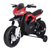 Moto Big Trail 6V Vermelha BelFix