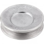 Polia de alumínio 1 canal A-70 mm VONDER