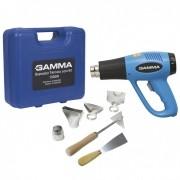 Soprador Térmico 1500w Maleta Kit Acessórios 127v - Gamma
