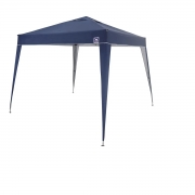 Tenda Gazebo Dobrável inclinada 3x3 Azul BelFix