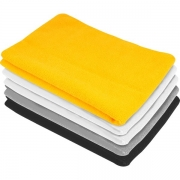 Toalha de Microfibra 30cm x 40cm 200g/m² 5Pçs VONDER