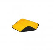 Toalha de microfibra dupla face 45cm x 38cm 420g/m² (gsm) supermacia VONDER