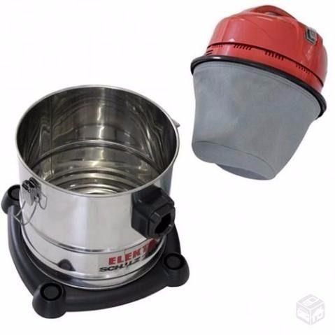 Aspirador de Água e Pó 10lts 1200w Vermelho 110v - Schulz