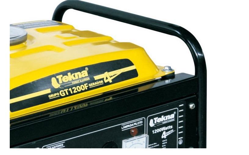 Gerador De Energia a Gasolina 1200w 4T 2,4hp 220v - Tekna
