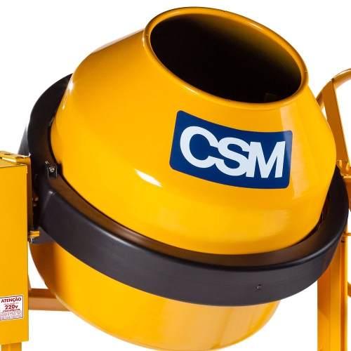 Betoneira Cs120 Motor 1/3 220v 120 Litros  CSM